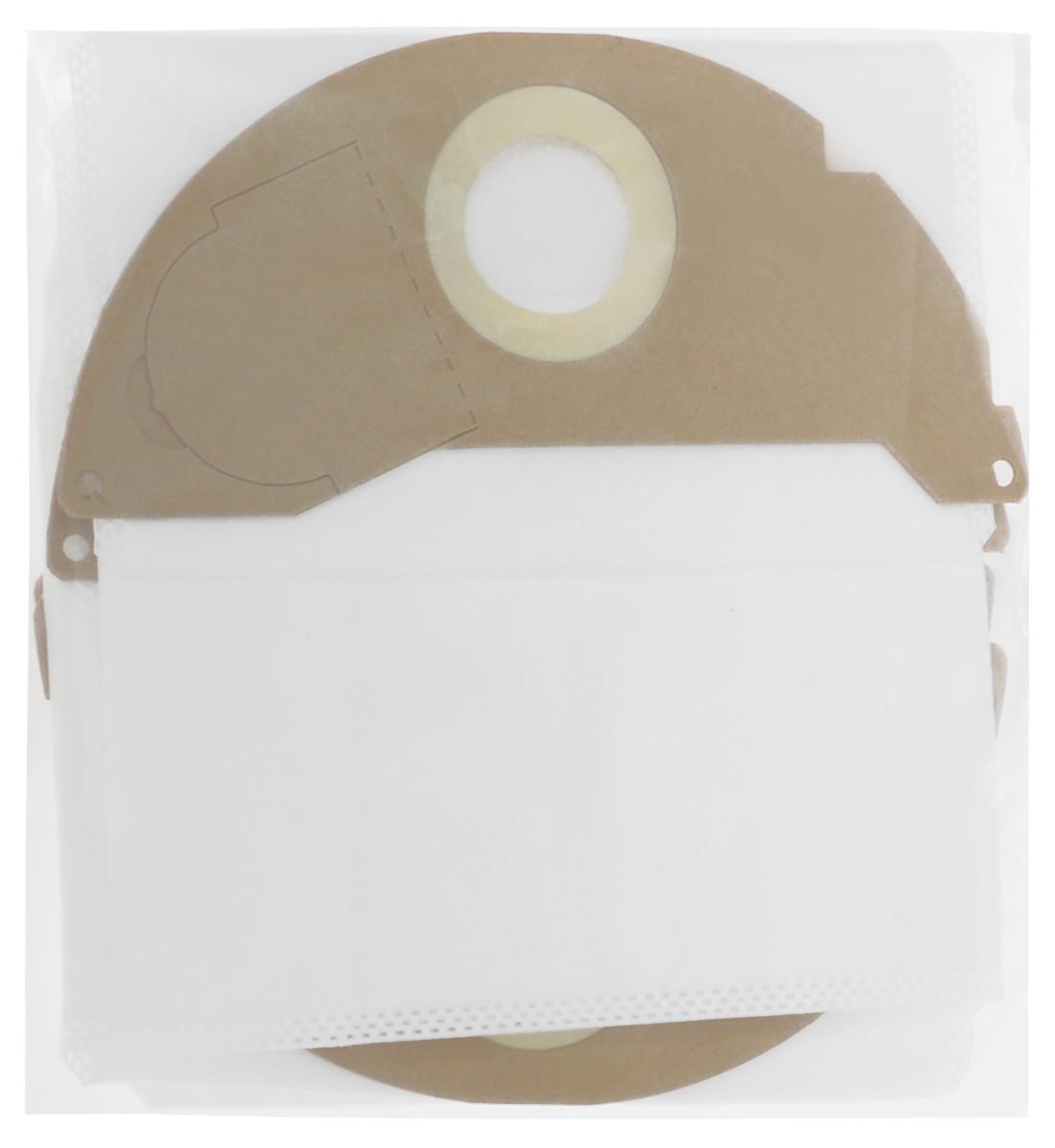 Filtero KAR 05 Pro комплект пылесборников для промышленных пылесосов, 4 штKAR 05 (4) ProМешки для промышленных пылесосов Filtero KAR 05 Pro, трехслойные, произведены из синтетического микроволокна MicroFib. Прочность синтетических мешков Filtero KAR 05 Pro превосходит любые бумажные мешки-аналоги, даже если это оригинальные бумажные мешки всемирно известных марок. Вы можете быть уверены: заклепки, гвозди, шурупы, битое стекло, острые камни и прочее не смогут прорвать мешки Filtero Pro. Мешки Filtero Pro не боятся влаги, и даже вода, попавшая в мешок, не помешает вам произвести качественную уборку! Мешки Filtero Pro предназначены для уборки пыли класса М.Подходят для следующих моделей пылесосов:KARCHERA 2000 - A 2099 сериянапример A 2004A 2054MV 2WD 2.000 - WD 2.399 сериянапример WD 2.200