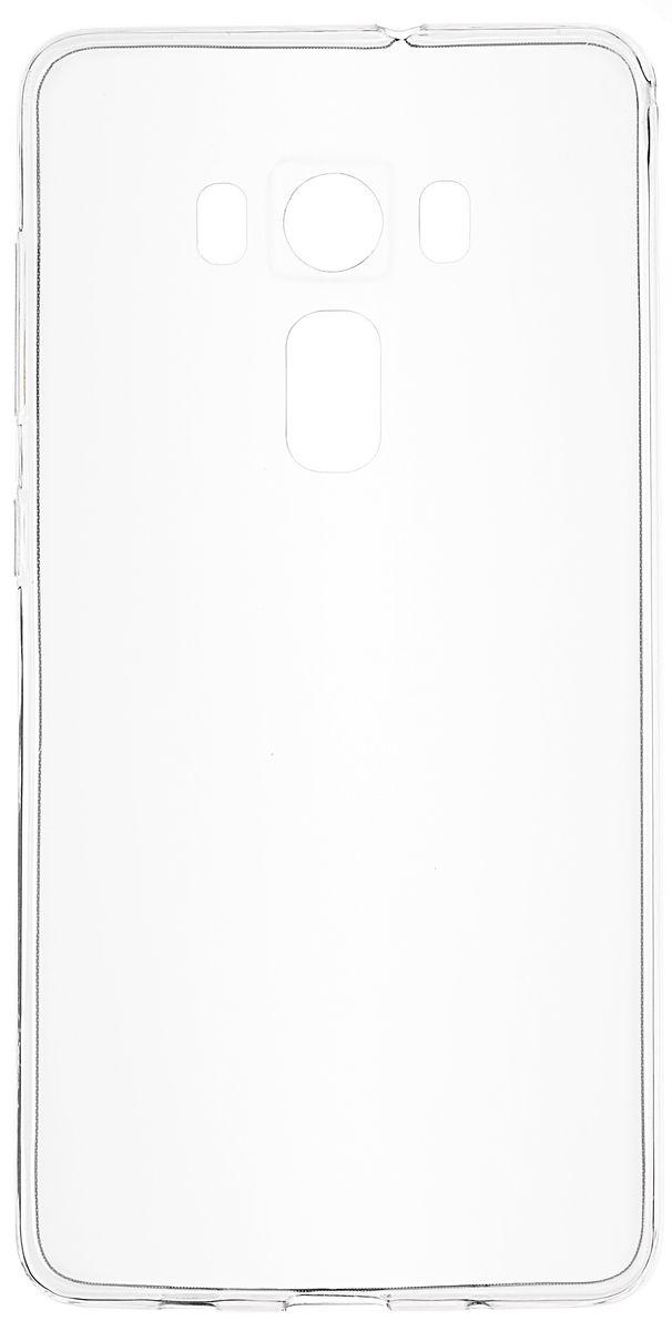 Skinbox Slim Silicone чехол для Asus Zenfone 3 ZS570KL, Transparent2000000096988Чехол Skinbox Slim Silicon для Asus Zenfone 3 ZS570KL надежно защищает ваш смартфон от внешних воздействий, грязи, пыли, брызг. Он также поможет при ударах и падениях, не позволив образоваться на корпусе царапинам и потертостям. Чехол обеспечивает свободный доступ ко всем функциональным кнопкам смартфона и камере.