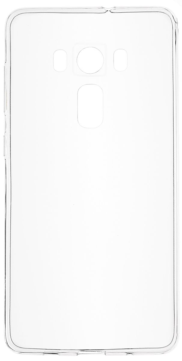 Skinbox Slim Silicone чехол для Asus Zenfone 3 ZS570KL, Transparent чехлы для телефонов skinbox флип кейс для slim aw asus zenfone 5