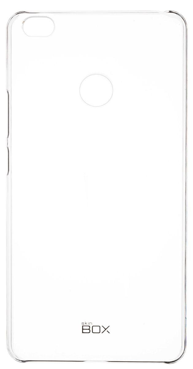 Skinbox Crystal 4People чехол для Xiaomi Mi Max, Transparent2000000093420Чехол Skinbox Crystal 4People для Xiaomi Mi Max надежно защищает ваш смартфон от внешних воздействий, грязи, пыли, брызг. Он также поможет при ударах и падениях, не позволив образоваться на корпусе царапинам и потертостям. Чехол обеспечивает свободный доступ ко всем функциональным кнопкам смартфона и камере.