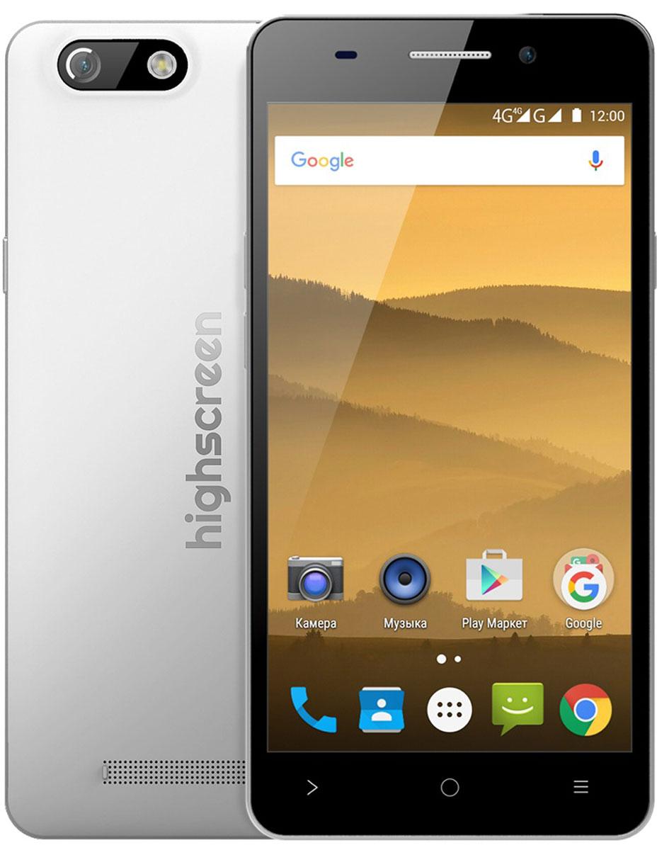 Highscreen Power Five EVO, White - Смартфоны