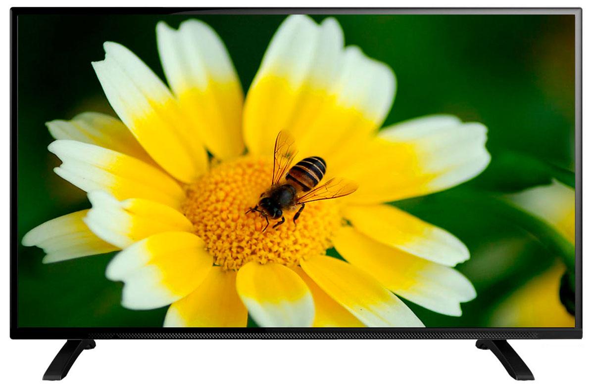 Erisson 43 LES 76 T2 телевизор43LES76T2Телевизор Erisson 43LES76T2 с насыщенной цветопередачей изображения на экране с разрешением Full HD и широкими углами обзора. Источником сигнала для качественной реалистичной картинки служат не только цифровые эфирные и кабельные каналы, но и любые записи с внешних носителей, благодаря универсальному встроенному USB медиаплееру.Формат экрана: 16:9Контрастность: 1200:1Яркость: 200 кд/м2Угол обзора: 176°/176°Время отклика : 9 мс