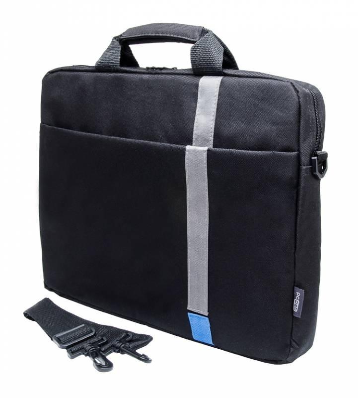 Сумка для ноутбука 15.6 PC Pet HQ Classic, Black (PCP-1001BL)PCP-1001BLСверхтонкая и легкая сумка для ноутбуков с экраном 15,6 дюйма. Основное отделение и передний карман закрываются на молнию. Внутри сумка выделана мягким материалом, под которой находится особый наполнитель, который предохраняет устройство от повреждений.