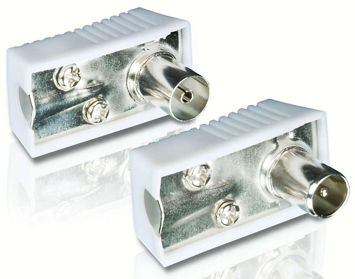 Philips SWV2561W/10 антенный разъем F-M комплект 2 штSWV2561W/10Никелированные разъемы кабеля Philips SWV2561W/10 позволяют получить устойчивое соединение для надежного подключения. Гибкая полихлорвиниловая оболочка обеспечивает защиту сердечника кабеля и служит также для дополнительной прочности и удобства установки. Нескользящий захват делает подключение компонентов эргономичным и удобным. Резиновый кабельный зажим Philips SWV2561W/10 обеспечивает безопасное и в то же время гибкое соединение между устройством и разъемом.