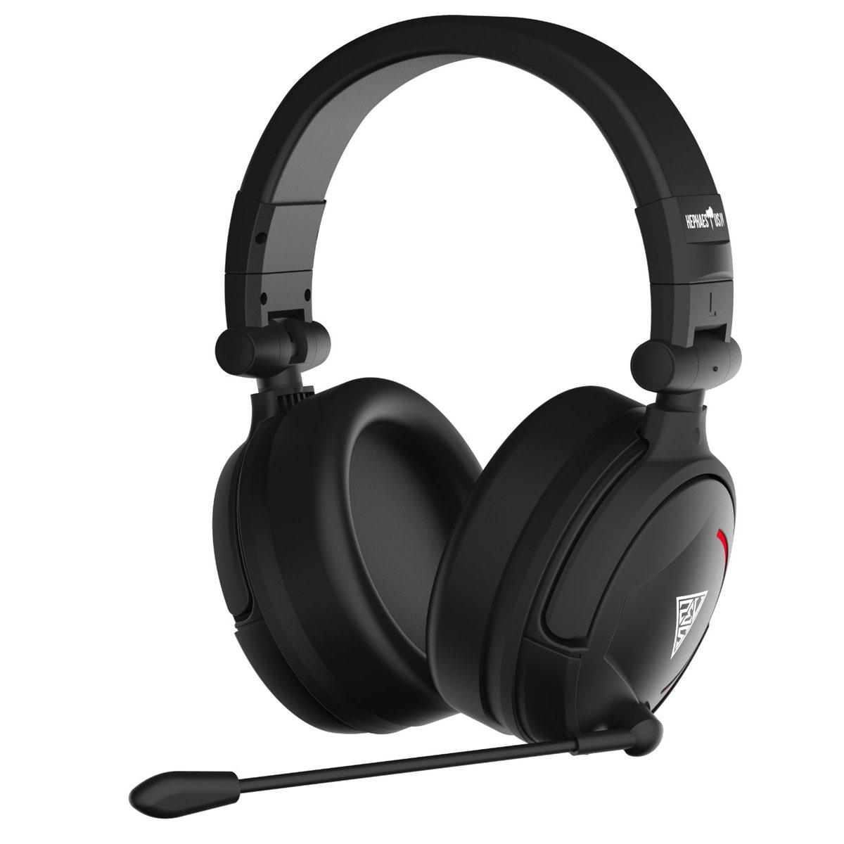 Gamdias Hephaestus V2 7.1 игровые наушникиGHS3510USB-гарнитура Gamdias Hephaestus V2 с объемным звучанием 7.1, вибрацией и красной дышащей подсветкой.Виртуальный объемный звук и драйверы с неодимовыми магнитами обеспечивают непревзойденное качество звука с четким звуковым позиционированием.Микрофон может быть зафиксирован в любой удобной позиции. Оснащен технологией шумоподавления, препятствующей попаданию посторонних звуков в голосовой канал.Удобное управление громкостью и возможность включения/отключения микрофона во время игры.50-миллиметровые динамики обеспечивают непревзойденное качество звука с идеальным балансом высоких и низких частот. Низкие частоты преобразуются в пульсацию, равномерно распределяемую по амбушюрам, чтобы дать возможность почувствовать звук.