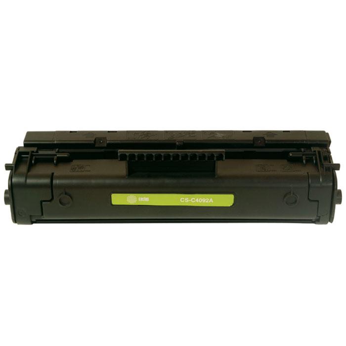 Cactus CS-C4092A, Black тонер-картридж для HP LJ 1100/3200/3220CS-C4092AКартридж Cactus CS-C4092A для лазерных принтеров HP LJ 1100/3200/3220.Расходные материалы Cactus для лазерной печати максимизируют характеристики принтера. Обеспечивают повышенную чёткость чёрного текста и плавность переходов оттенков серого цвета и полутонов, позволяют отображать мельчайшие детали изображения. Обеспечивают надежное качество печати.