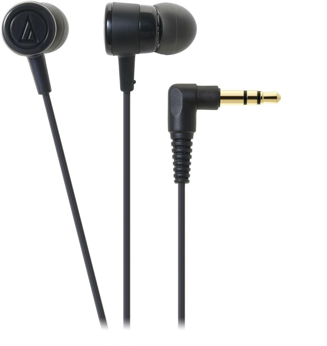 Audio-Technica ATH-CKL220, Black наушники15118395Вставные наушники Audio-Technica ATH-CKL220 являются обновлённой версией модели ATH-CKL202. Это универсальные вставки с пассивной шумоизоляцией, предназначенные для каждодневного использования как с портативной техникой, так и другими устройствами.Драйверы диаметром 8,5 мм обеспечивают качественный звук для всех музыкальных жанров. Эргономичный дизайн вставных амбушюров гарантирует комфортную посадку. Данная модель также имеет кабель с защитой от спутывания, экранировкой от шумов и механически изменяемой длиной натяжения.