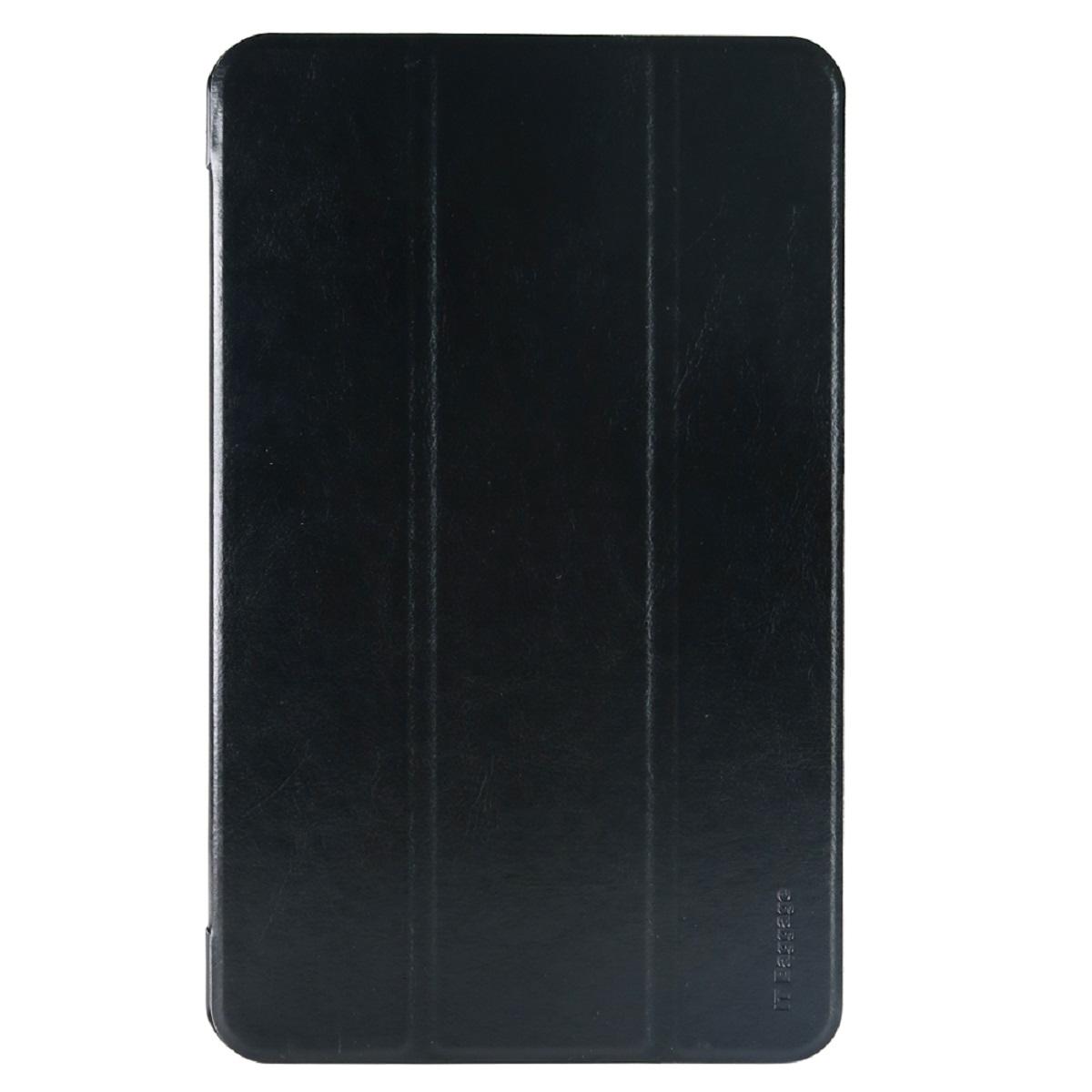 IT Baggage чехол для Samsung Galaxy Tab A 10.1 SM-T580/T585, BlackITSSGTA105-1Чехол IT Baggage для планшета Samsung Galaxy Tab A 10.1 SM-T580/T585 надежно защищает ваше устройство от случайных ударов и царапин, а так же от внешних воздействий, грязи, пыли и брызг. Крышку можно использовать в качестве настольной подставки для вашего устройства. Чехол приятен на ощупь и имеет стильный внешний вид.Он также обеспечивает свободный доступ ко всем функциональным кнопкам планшета и камере.