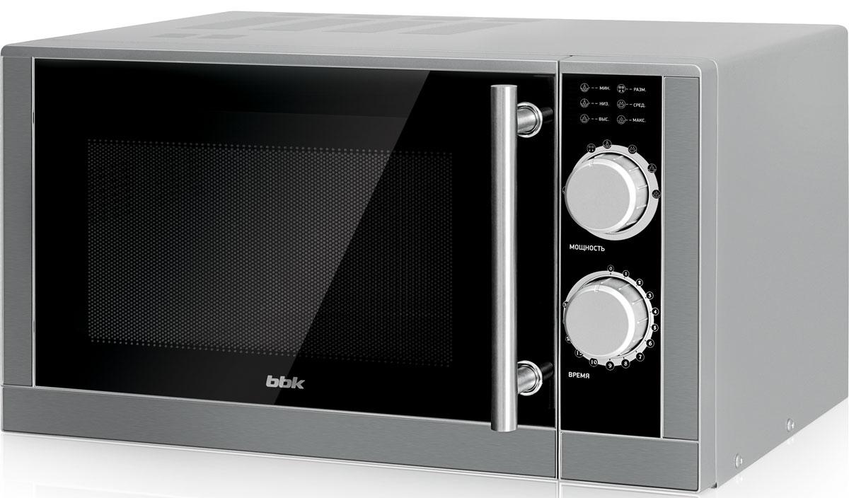 BBK 23MWS-929M/BX, Black СВЧ-печь23MWS-929M/BX/RUМикроволновая печь BBK 23MWS-929M/BX обладает внушительным объемом внутренней камеры 23 л, а также большой мощностью микроволн 900 Вт, что дает возможность приготовить или разогреть в ней блюда сразу для всей семьи. Классическийдизайн, наличие таймера, удобные в обращении элементы управления и возможность выбора самых необходимых режимов работы поворотом одного переключателя делают данную модель незаменимым помощником.Диаметр поворотного стола: 27 смТаймер: 30 мин