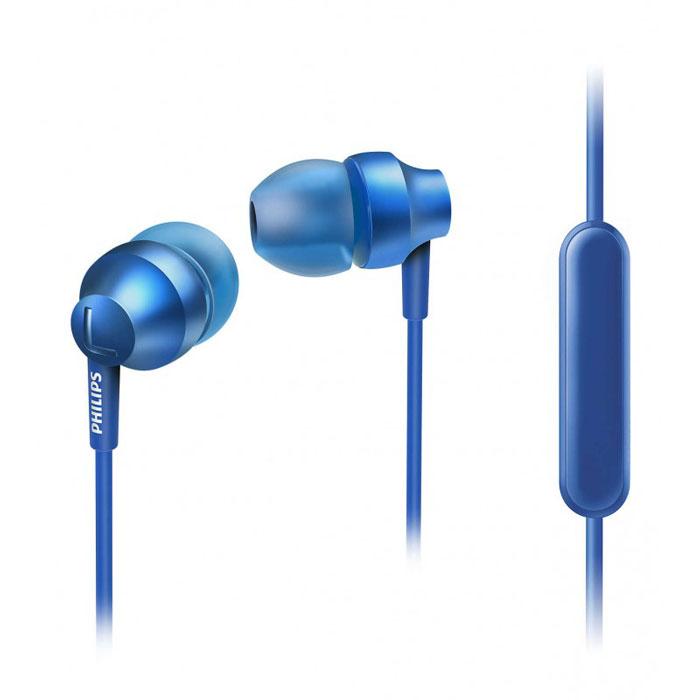 Philips SHE3855BL/01 наушникиSHE3855BL/00Стильные и удобные наушники-вкпадыши Philips Chromz (SHE3855) с превосходным дизайном обеспечивают воспроизведение насыщенных басов. Цвета матовой отделки, выполненной методом вакуумной металлизации, соответствуют цветам iPhone 6s. В комплект входят насадки 3 размеров (маленькие, средние и большие), чтобы вы могли выбрать подходящий вариант для себя.Благодаря встроенному микрофону можно легко переключаться между режимами разговора и прослушивания музыки, чтобы всегда оставаться на связи.Качественная матовая отделка, выполненная методом вакуумной металлизации, обеспечивает дополнительную защиту.Эргономичная овальная звуковая трубка обеспечивает максимально комфортную посадку, подстраиваясь под форму уха.Ультракомпактные наушники с удобной посадкой полностью заполняют ушную раковину и заглушают внешние звуки.Компактные наушники-вкладыши Philips Chromz (SHE3855) с удобной посадкой и мощными излучателями обеспечивают чистый звук и мощный бас.Мягкий резиновый сгиб предотвращает повреждение контактов при многократном сгибании кабеля и продлевает срок службы наушников.