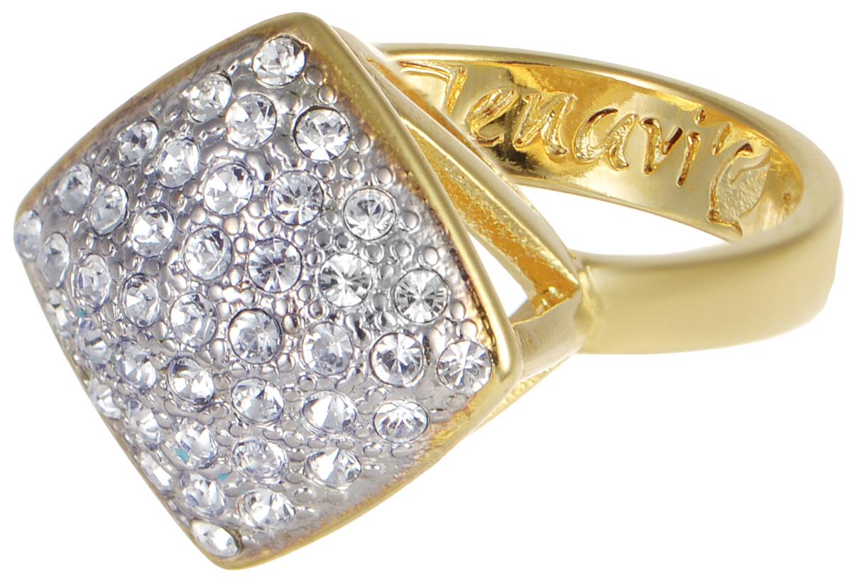 Кольцо Jenavi Мириада. Харди, цвет: золотой. r632q000. Размер 16Коктейльное кольцоКольцо Jenavi Харди из коллекции Мириада изготовлено из гипоаллергенного ювелирного сплава с позолотой и украшено яркими кристаллами Swarovski. Это кольцо никогда не затеряется среди других ваших украшений, ведь сверкающие кристаллы Swarovski и покрытие из настоящего золота выглядят роскошно и очень дорого. Кроме того, его изысканный дизайн так выгодно подчеркивает достоинства кристаллов, что они не уступают своей красотой драгоценным камням.В новой коллекции Мириада - бесчисленное количество кристаллов Swarovski разных размеров, цветов и оттенков. Они вдохновляют - на романтическое настроение, на смелые поступки, на позитивные эмоции. Они придают новое толкование всем известной истины - красоты никогда не бывает много!Мириада от Jenavi - удовольствие, которое может длиться вечно.