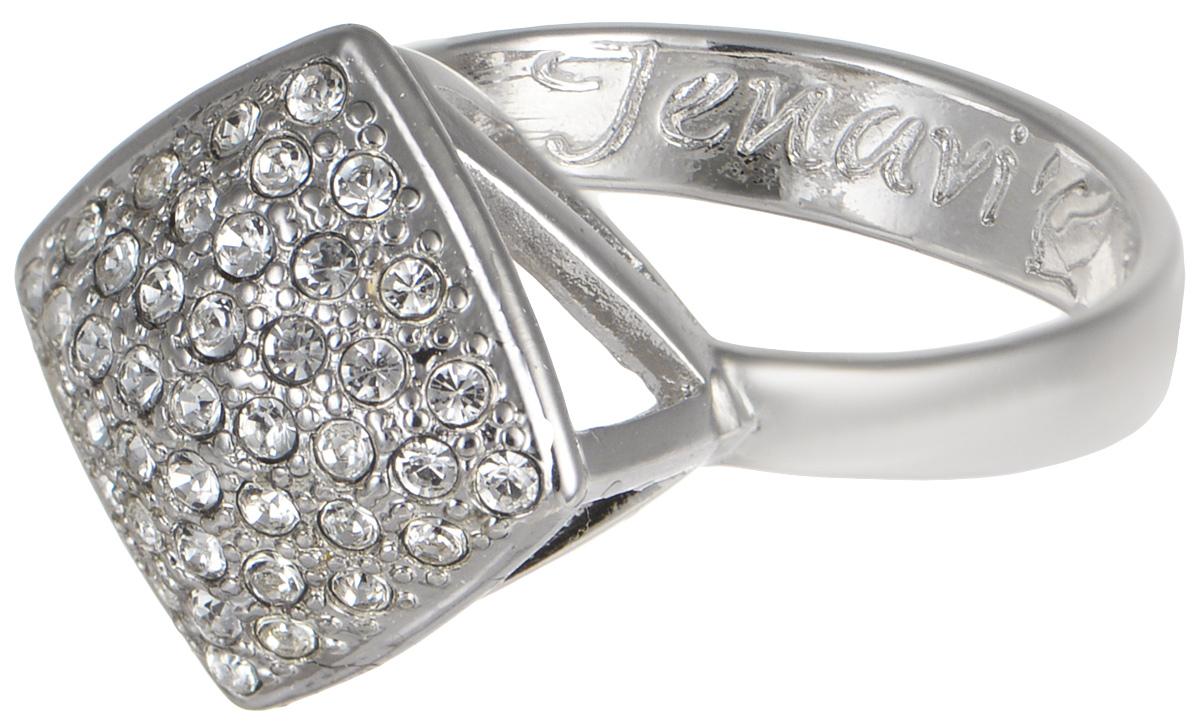 Кольцо Jenavi Мириада. Харди, цвет: серебристый. r632f000. Размер 21Коктейльное кольцоКольцо Jenavi Харди из коллекции Мириада изготовлено из гипоаллергенного ювелирного сплава с покрытием родием и украшено яркими кристаллами Swarovski. Это кольцо никогда не затеряется среди других ваших украшений, ведь сверкающие кристаллы Swarovski и покрытие из настоящего родиявыглядят роскошно и очень дорого. Кроме того, его изысканный дизайн так выгодно подчеркивает достоинства кристаллов, что они не уступают своей красотой драгоценным камням.В новой коллекции Мириада - бесчисленное количество кристаллов Swarovski разных размеров, цветов и оттенков. Они вдохновляют - на романтическое настроение, на смелые поступки, на позитивные эмоции. Они придают новое толкование всем известной истины - красоты никогда не бывает много!Мириада от Jenavi - удовольствие, которое может длиться вечно.