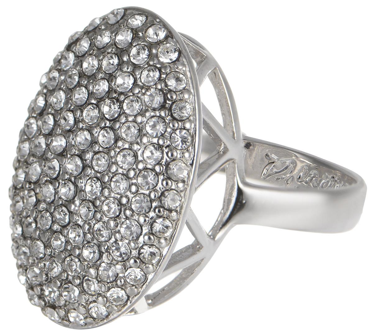 Кольцо Jenavi Мириада. Гросс, цвет: серебро. r633f000. Размер 17Коктейльное кольцоКольцо Jenavi Гросс из коллекции Мириада изготовлено из гипоаллергенного ювелирного сплава с покрытием родием и украшено яркими кристаллами Swarovski. Это кольцо никогда не затеряется среди других ваших украшений, ведь сверкающие кристаллы Swarovski и покрытие из настоящего родиявыглядят роскошно и очень дорого. Кроме того, его изысканный дизайн так выгодно подчеркивает достоинства кристаллов, что они не уступают своей красотой драгоценным камням.В новой коллекции Мириада - бесчисленное количество кристаллов Swarovski разных размеров, цветов и оттенков. Они вдохновляют - на романтическое настроение, на смелые поступки, на позитивные эмоции. Они придают новое толкование всем известной истины - красоты никогда не бывает много!Мириада от Jenavi - удовольствие, которое может длиться вечно.