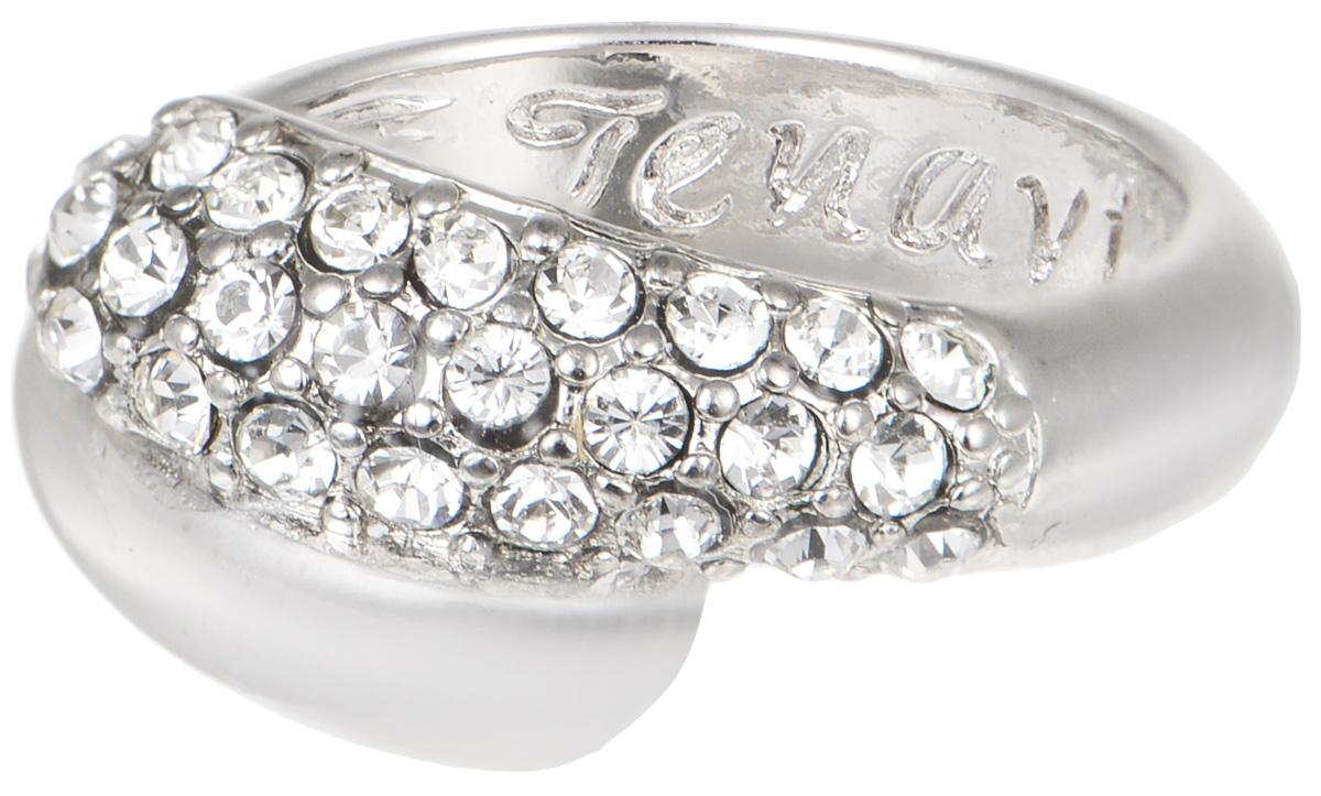 Кольцо Jenavi Литела, цвет: серебряный, белый. j947f000. Размер 20Коктейльное кольцоЭлегантное кольцо JenaviЛителаизготовлено из качественного металла с покрытием из серебра с родированием. Изделие выполнено в оригинальном дизайне и декорировано стразами Swarovski. Внутренняя сторона кольца дополнена тисненой надписью с названием бренда. Такое стильное кольцо идеально дополнит ваш образ и подчеркнет вашу индивидуальность.