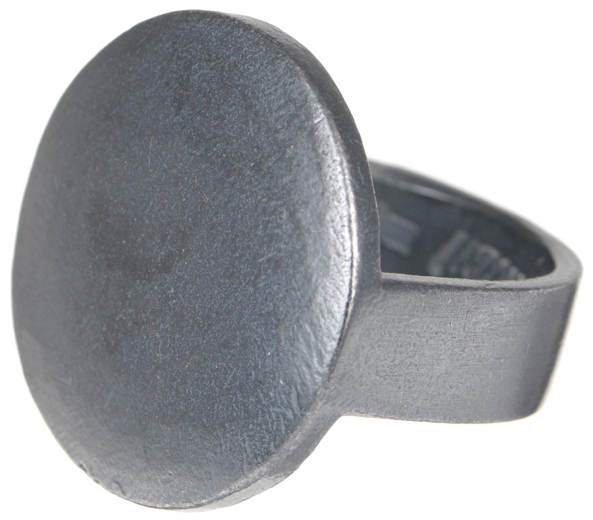 Кольцо Jenavi Mona. Сотиле, цвет: серый. k479o090. Размер 19Кольцо для платкаОригинальное кольцо от Jenavi Mona. Сотиле изготовлено из качественного металла с покрытием из черного оксида. Внутренняя сторона изделия оформлена тисненой надписью с названием бренда. Такое стильное кольцо сделает ваш образ интересным и подчеркнет вашу индивидуальность.