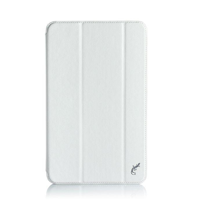 G-case Slim Premium чехол для Samsung Galaxy Tab A 10.1, WhiteGG-728Чехол G-case Slim Premium для планшета Samsung Galaxy Tab A 10.1 надежно защищает ваше устройство от случайных ударов и царапин, а так же от внешних воздействий, грязи, пыли и брызг. Крышку можно использовать в качестве настольной подставки для вашего устройства. Чехол приятен на ощупь и имеет стильный внешний вид.Он также обеспечивает свободный доступ ко всем функциональным кнопкам планшета и камере.