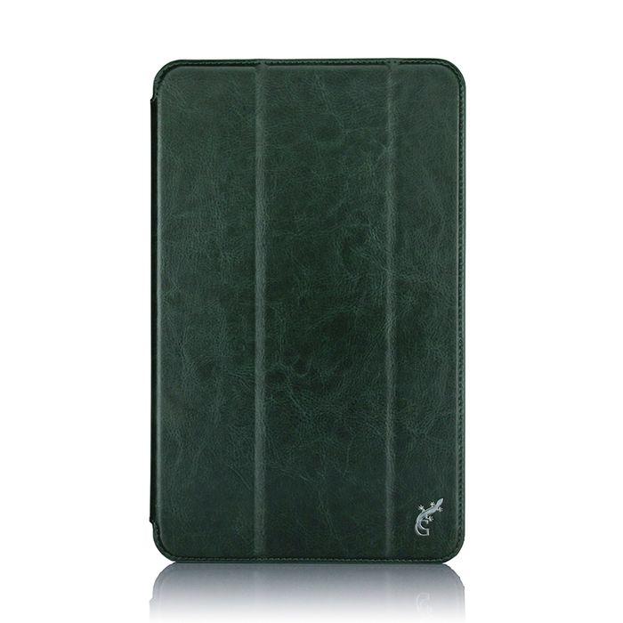 G-case Slim Premium чехол для Samsung Galaxy Tab A 10.1, Dark GreenGG-732Чехол G-case Slim Premium для планшета Samsung Galaxy Tab A 10.1 надежно защищает ваше устройство от случайных ударов и царапин, а так же от внешних воздействий, грязи, пыли и брызг. Крышку можно использовать в качестве настольной подставки для вашего устройства. Чехол приятен на ощупь и имеет стильный внешний вид.Он также обеспечивает свободный доступ ко всем функциональным кнопкам планшета и камере.