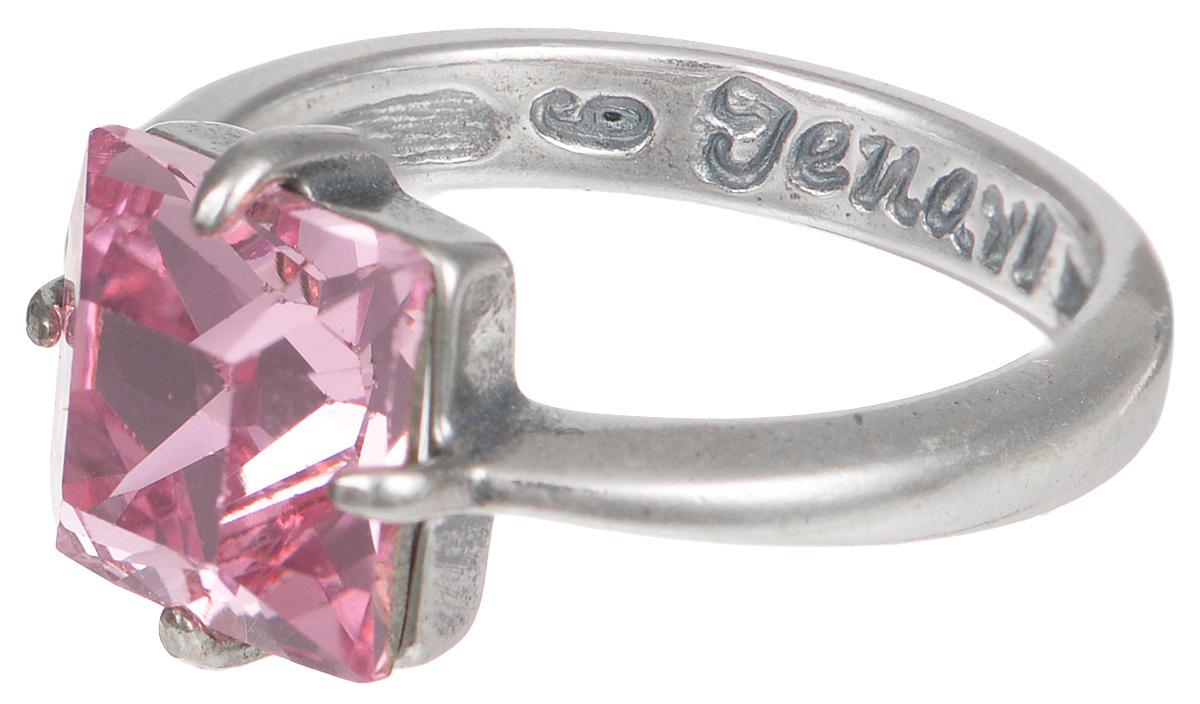 Кольцо Jenavi Циркония. Ларен цвет: серебряный, розовый. r6643010. Размер 18Коктейльное кольцоЭлегантное кольцо Jenavi Циркония. Ларен изготовлено из качественного металла с покрытием из черненого серебра. Изделие декорировано кристаллом Swarovski и дополнено тисненой надписью с названием бренда на внутренней стороне. Такое стильное кольцо идеально дополнит ваш образ и подчеркнет вашу индивидуальность.