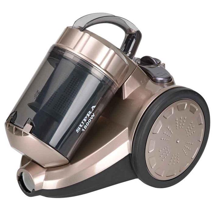 Supra VCS-1821, Silver пылесосVCS-1821 silverПылесос Supra VCS-1821 оснащен эффективной системой очистки мультициклон, а также постоянными антистатическими фильтрами, которые легко моются и рассчитаны на весь срок службы прибора. Автоматическая смотка шнура, удобная ручка для горизонтальной переноски и низкий уровень шума делают прибор удобным помощником по хозяйству.