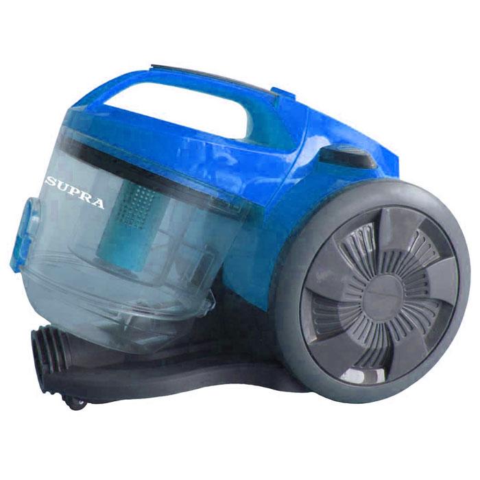 Supra VCS-1624, Blue пылесосVCS-1624 blueПылесос Supra VCS-1624 оборудован эффективной системой мультициклон, а также возможностью удобной очистки контейнера. Постоянные антистатические фильтры легко моются и рассчитаны на весь срок службы прибора. Автоматическая смотка шнура, удобная ручка для горизонтальной переноски и низкий уровень шума сделают пылесос отличным помощником по хозяйству.