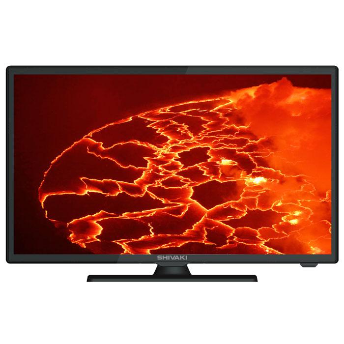 Shivaki STV-24LED14 телевизорSTV-24LED14Телевизор Shivaki STV-24LED14, благодаря современной технологии подсветки LED, обладаетчрезвычайно малой толщиной экрана,а сочетание с утонченным дизайном позволяет телевизору удачновписаться в любой интерьер. Встроенный цифровой тюнер DVB-T/Т2 и DVB-C дает вам возможность пользоваться всеми преимуществами цифрового телевиденияинаслаждаться телевидением высокой четкости. Вы можете телевизор использовать как ПК - монитор.Контрастность: 5000:1Яркость: 250 кд/м2Углы обзора по горизонтали/вертикали: 178°/178°Время отклика пикселя: 8,5 мс