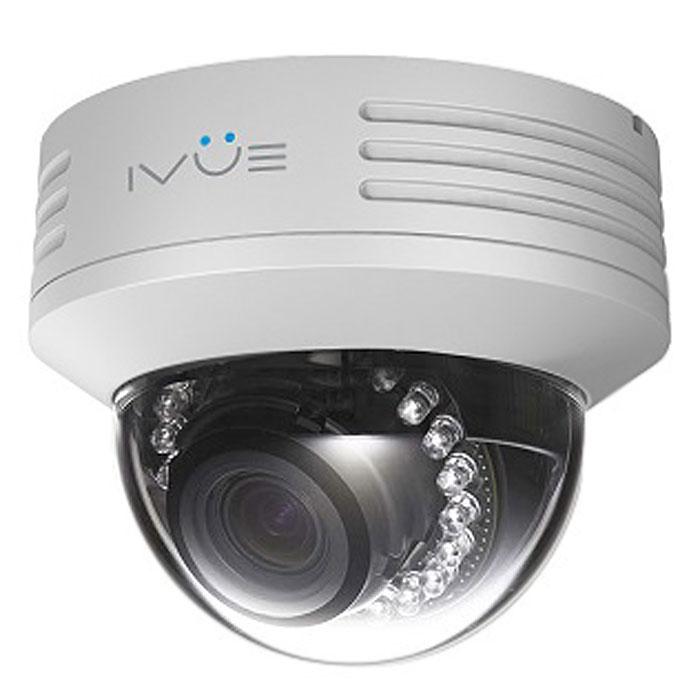 IVUE NV433-P накладная круглая камера видеонаблюденияNV433-PIP камера IVUE NV433-P имеет разрешение 1920х1080, поддерживает функцию PoE (питание через локальную сеть), полная совместимость с браузером Internet Explorer и полная совместимость со всеми мобильными платформами, такими как Apple и Android. Так же камера имеет функции маскировки отдельной области, функция обнаружения движения и тревоги по датчику, стандарт сжатия видео H.264.Интерфейс выхода видео: 1 Vp-р композитный выход (75 ОМ / BNC)Интерфейс входа аудио: 1 канал 3.5 мм аудио интерфейс, вход для микрофона / LINE INИнтерфейс выхода аудио: 1 канал 3.5 мм аудио интерфейсМобильные приложения: iPhone, iPad, AndroidСкорость передачи данных: основной поток: 1000-6000 Кб/с, дополнительный поток: 512-2048 Кб/с, мобильный поток: 64-256Кб/сСжатие аудио: G.711Двусторонняя связьУровень защиты: антивандальная