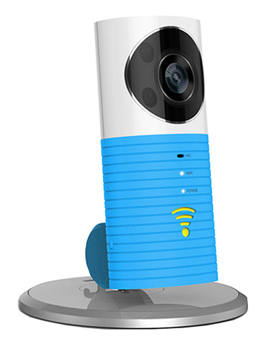 IVUE Dog-1W, Blue камера видеонаблюденияDOG-1W-BLUEУмная беспроводная камера IVUE Dog-1W с детектором движения. Широкое основание дает возможность поворота на 360 градусов. Скучаете по семье? Где бы вы не находились, вы сможете их увидеть. Наблюдайте за вашим магазином, пока вы дома. Опасаетесь проникновения воров? При возникновении движения изображения будут зафиксированы автоматически и будут храниться в облаке. А сигнал тревоги поступит на ваш мобильный телефон. При каждом движении вы получите по 3 снимка. В облаке хранится последние 99 таких случаев, который всегда доступны вам по желанию. Вы можете общаться со своими домашними животными находясь на работе. А так же вы можете делиться лучшими моментами запечатлёнными на камеру, отправляя их вашей семье или друзьям. Изображение высокого разрешения и двухсторонний разговор дает вам возможность приглядывать за вашим магазином пока вы заняты другими делами.Двусторонний разговор:Встроенный чувствительный микрофон и цифровая фильтрация шумов позволяет вам слышать как в реальной жизни.Оптика высокого разрешения:Оптика высокого разрешения делает изображение более отчетливым. Используя F2.2 диафрагму, высокое разрешение днем и ночью, устройство подстраивается под среду, что делает изображение более отчетливым.Интеллектуальный просмотр записи:MicroSD карта автоматически записывает на себя видео. Используя временную шкалу вы можете наблюдать прекрасные моменты по желанию.