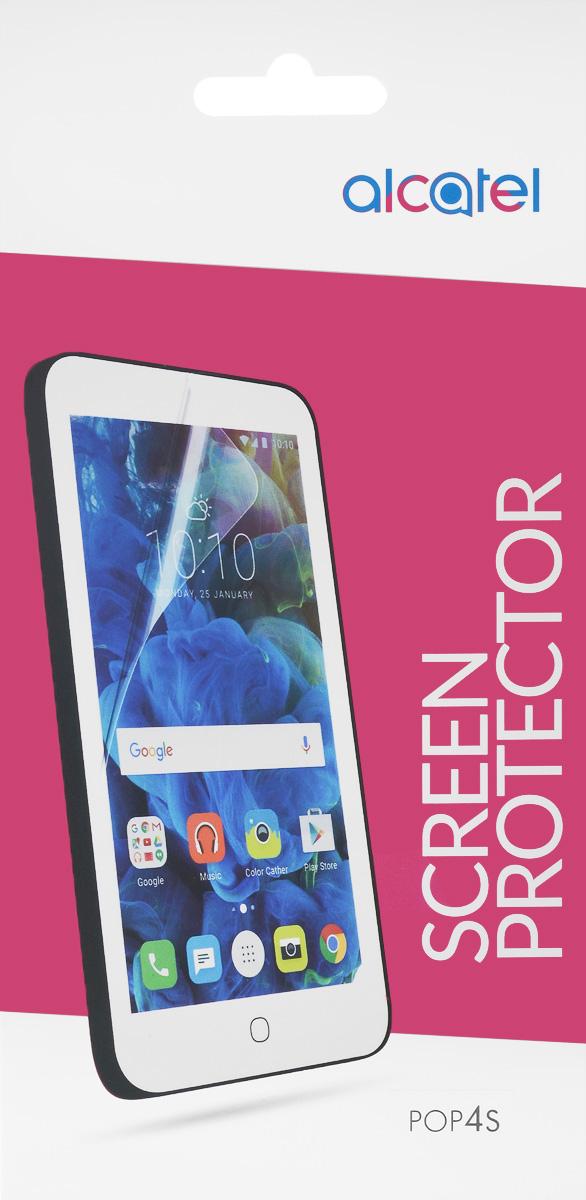Alcatel Crystal защитная пленка для Pop 4S (OT-5095)G5095-3AALSPG-RUЗащитная пленка Alcatel Crystal для Pop 4S (OT-5095) надежно предохраняет экран смартфона от мелких механических повреждений, царапин и потертостей, полностью сохраняя чувствительность сенсора и яркость цветопередачи.
