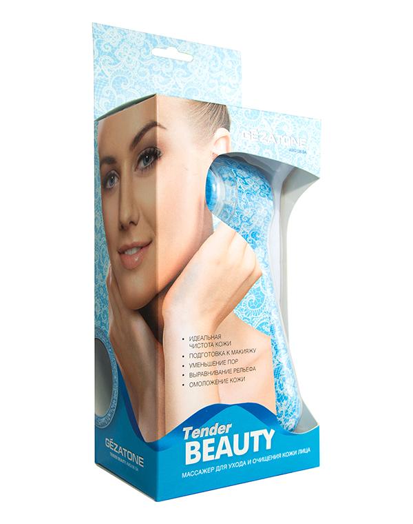 Gezatone Щетка для чистки и ухода за кожей лица Tender Beauty AMG106SA1301157Чтобы кожа как можно дольше оставалась молодой и здоровой, необходимо правильно и регулярно очищать ее.Массажер Tender Beauty эффективно очищает кожу от загрязнений и черных точек, выравнивает тон, устраняет отеки и придает коже здоровый цвет.Удаляет черные точки, угревую сыпь и излишки кожного сала.Делает кожу ровной и гладкой.Устраняет отечность.Улучшает цвет лица.Придает упругость.