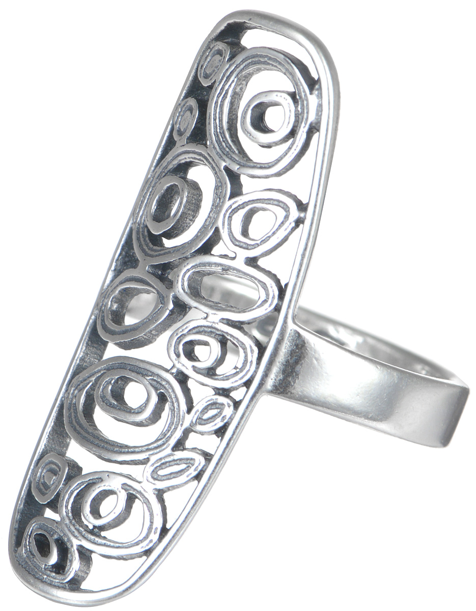 Кольцо Jenavi Витраж. Ратинда, цвет: серебряный. k4313090. Размер 16Коктейльное кольцоСтильное кольцо JenaviВитраж. Ратинда изготовлено из качественного металла с покрытием из черненого серебра. Изделие выполнено в оригинальном дизайне и дополнено тисненой надписью с названием бренда на внутренней стороне. Такое стильное кольцо идеально дополнит ваш образ и подчеркнет вашу индивидуальность.