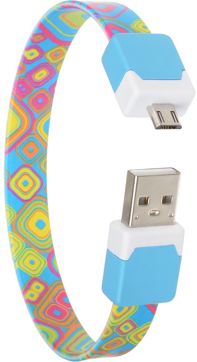 DVTech CB135 multicolor, Light Blue кабель USB-micro USB 2.0 25 смDVTech CB135 multicolor_голубойКабель DVTech CB135 предназначен для зарядки портативных устройств с разъемом micro-USB от стандартного USB порта и обмена данными между устройствами. Кабель выполнен из высококачественных материалов, в корпусах разъемов размещены магнитные вставки, благодаря чему его можно носить как браслет на запястье.