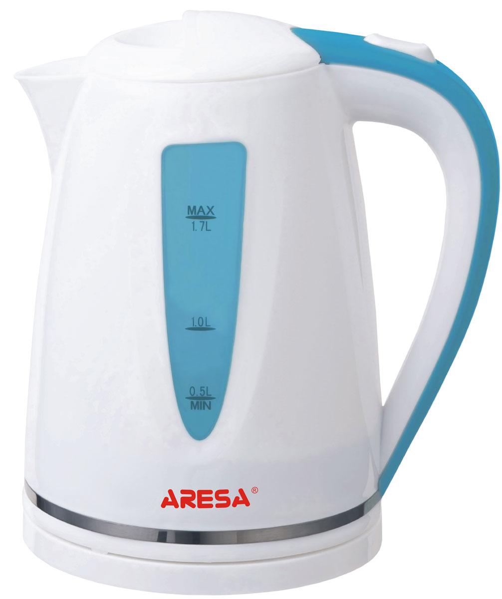 Aresa AR-3402 чайник электрическийAR-3402Электрический чайник Aresa AR-3402 мощностью 2000 Вт и объемом 1,7 литра отвечает всем современным требованиям надежности и безопасности. При его производстве используются только высококачественные и экологически безопасные материалы, а также нагревательный элемент и контроллеры высокого класса надежности. Устройство будет служить вам долгие годы, наполняя ваш быт комфортом!