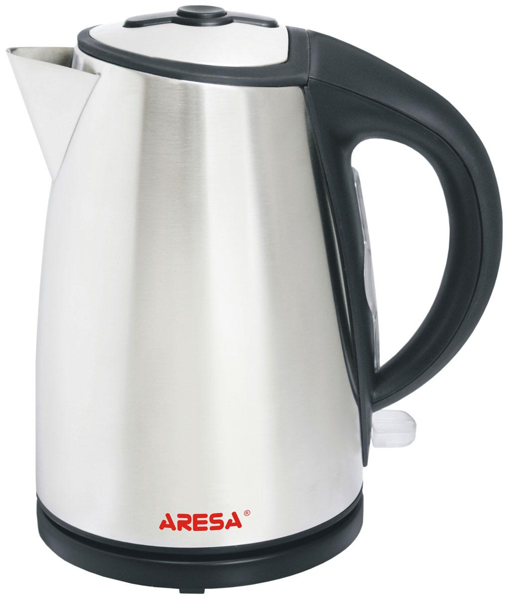 Aresa AR-3418 чайник электрическийAR-3418Электрический чайник Aresa AR-3418 в стильном металлическом корпусе мощностью 2000 Вт и объемом 1,7 литра отвечает всем современным требованиям надежности и безопасности. При его производстве используются только высококачественные и экологически безопасные материалы, а также нагревательный элемент и контроллеры высокого класса надежности. Устройство будет служить вам долгие годы, наполняя ваш быт комфортом!