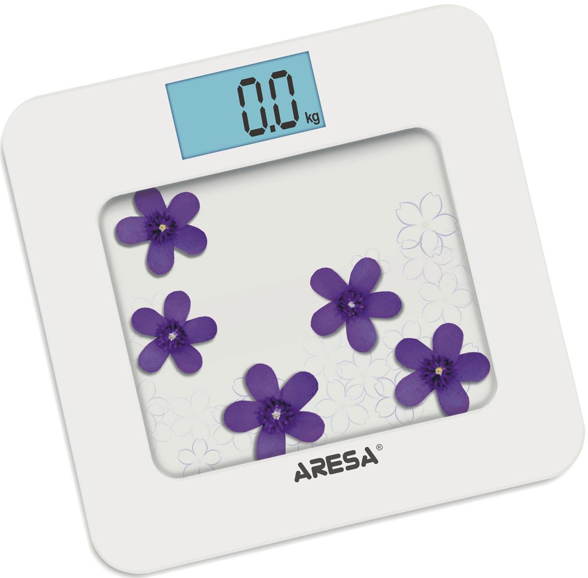Aresa SB-309 напольные весыSB-309Напольные электронные весы Aresa SB-309 - неотъемлемый атрибут здорового образа жизни. Они необходимы тем, кто следит за своим здоровьем, весом, ведет активный образ жизни, занимается спортом и фитнесом. Очень удобны для будущих мам, постоянно контролирующих прибавку в весе, также рекомендуются родителям, внимательно следящим за весом своих детей.Минимальная нагрузка: 6 кг
