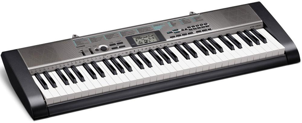 Casio CTK-1300, Black цифровой синтезатор - Клавишные инструменты и синтезаторы