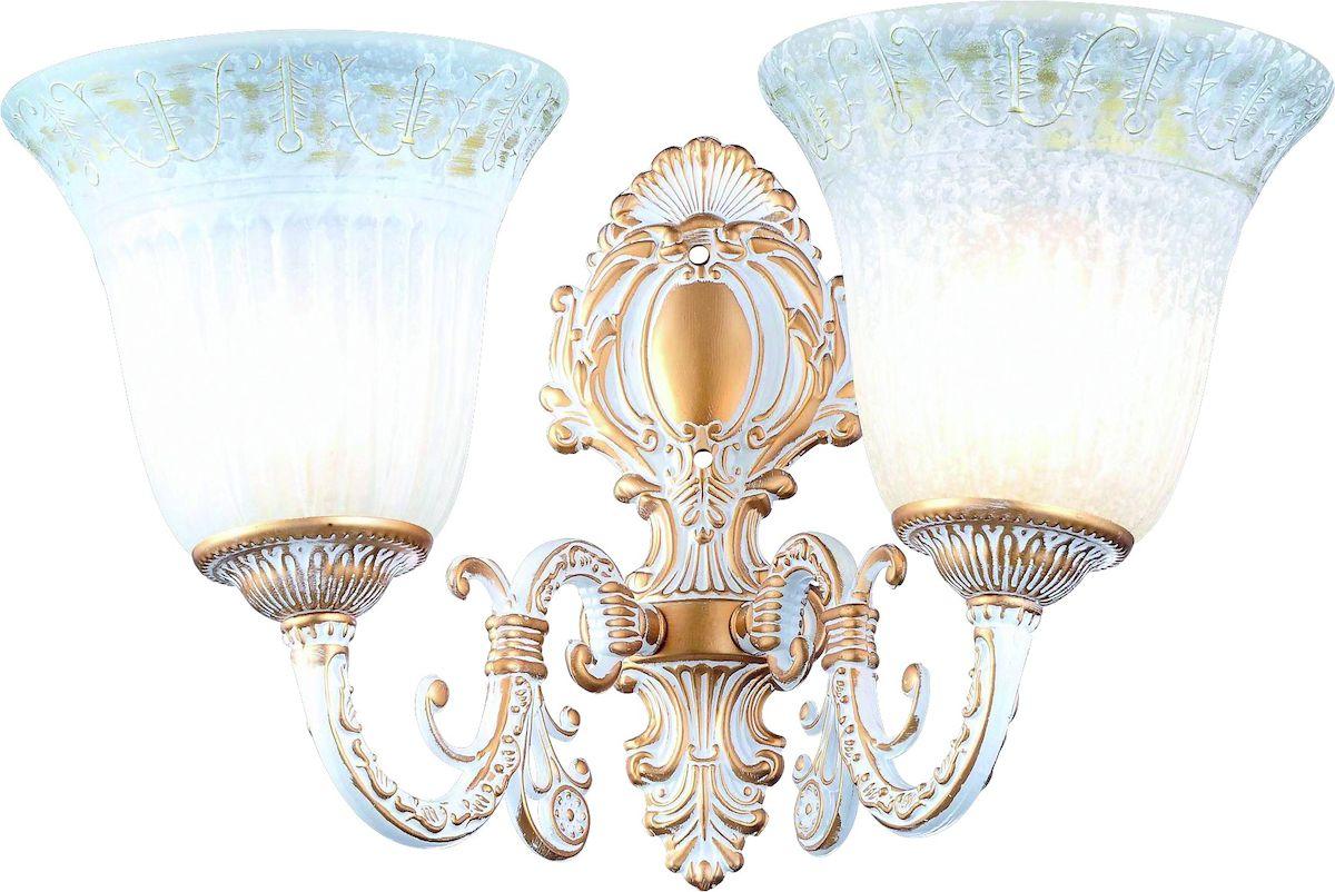 Светильник настенный Arte Lamp DELIZIA A1032AP-2WGA1032AP-2WG