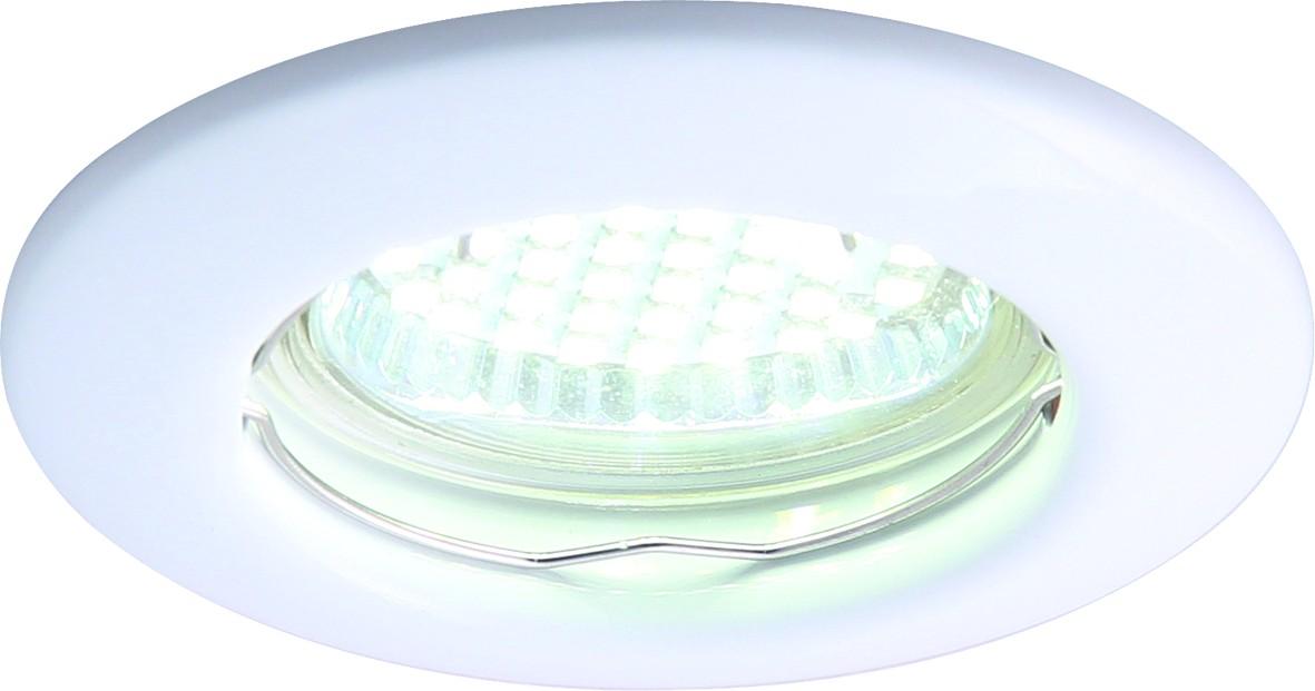 Светильник потолочный Arte Lamp Praktisch. A1203PL-1WHA1203PL-1WHПотолочный светильник Arte Lamp Praktisch поможет создать в вашем доме атмосферу уюта и комфорта. Благодаря высококачественным материалам он практичен в использовании и отлично работает на протяжении долгого периода времени. Современный встраиваемый спот круглой формы.Лампы: GU10.Диаметр: 8,2 см. Врезное отверстие: 5,8 см.