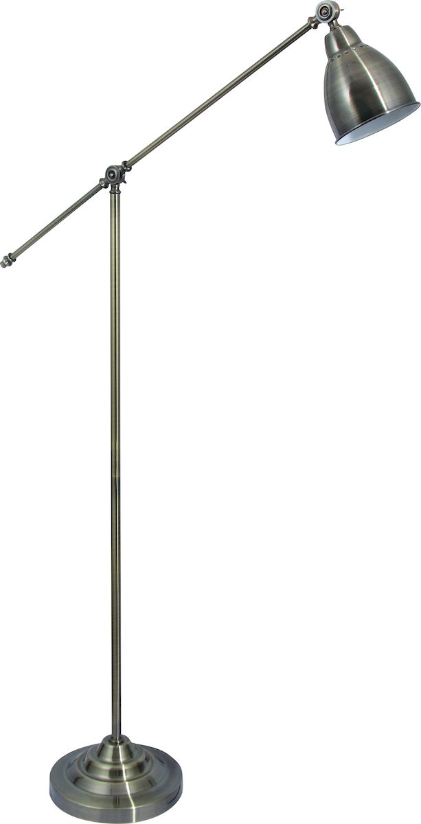 Светильник напольный Arte Lamp Braccio. A2054PN-1ABA2054PN-1ABНапольный светильник Arte Lamp Braccio поможет создать в вашем доме атмосферу уюта и комфорта. Благодаря высококачественным материалам он практичен в использовании и отлично работает на протяжении долгого периода времени. Торшер на длинной ножке с фиксацией. Плафон и дуга ножки поворотные. Выключатель на проводе в розетку. Максимальная длина: 90 см. Лампа: Е27, 1х60 Ватт.