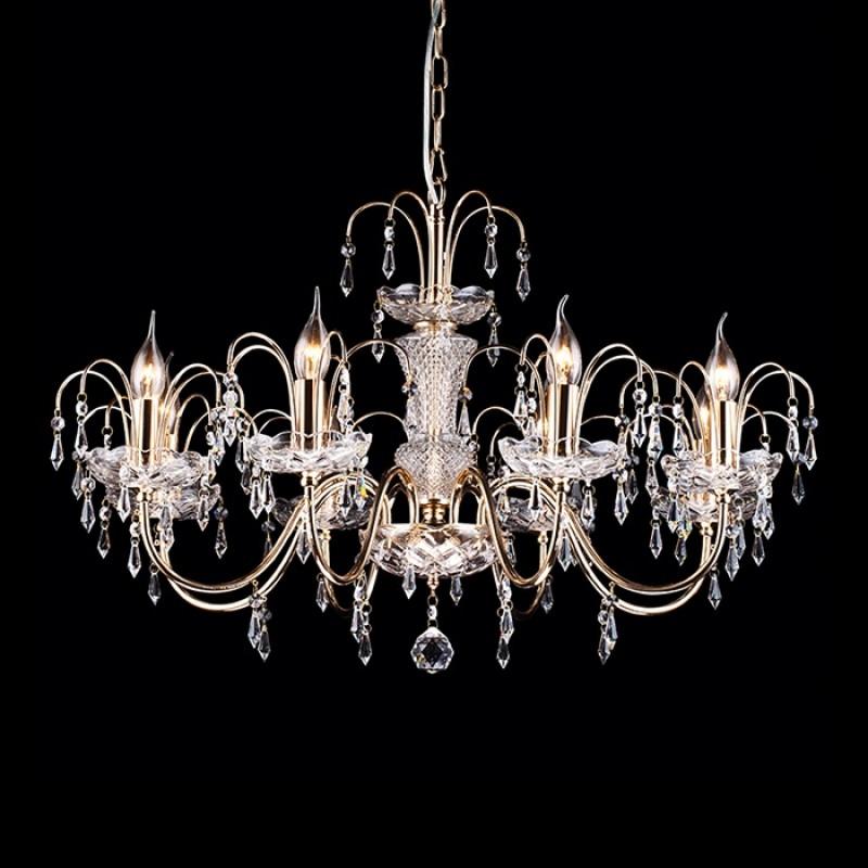 Светильник подвесной Arte Lamp SPARKLES A3054LM-8GOA3054LM-8GO