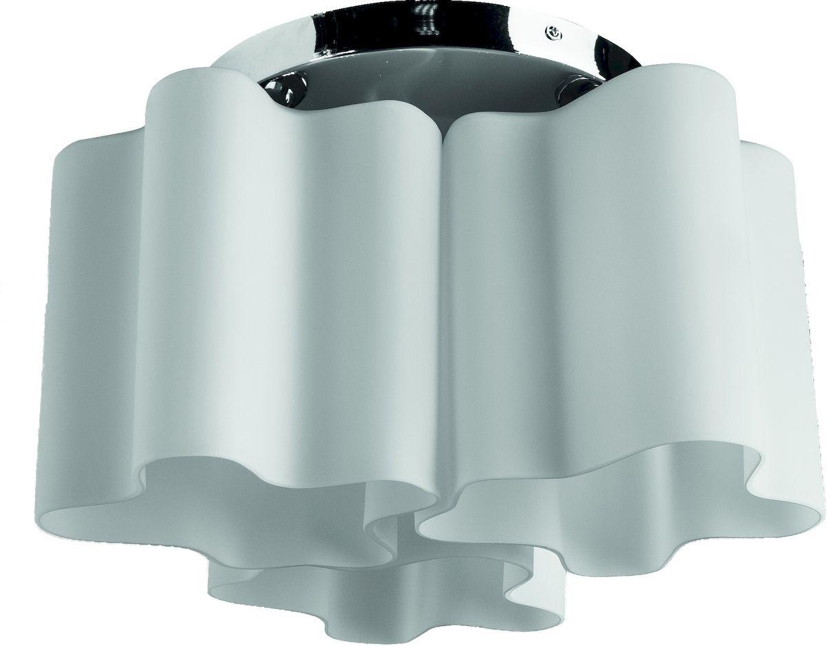 Светильник потолочный Arte Lamp Serenata. A3479PL-3CCA3479PL-3CCПотолочный светильник Arte Lamp Serenata поможет создать в вашем доме атмосферу уюта и комфорта. Благодаря высококачественным материалам он практичен в использовании и отлично работает на протяжении долгого периода времени. Современная люстра с тремя плафонами из матового стекла оригинальной формы. Плафоны направлены вниз.Лампы: Е 27, 3х40 Ватт.Диаметр: 42 см. Тип крепления: планка на шурупах.
