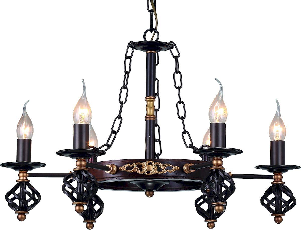 Светильник подвесной Arte Lamp CARTWHEEL A4550LM-6CKA4550LM-6CK