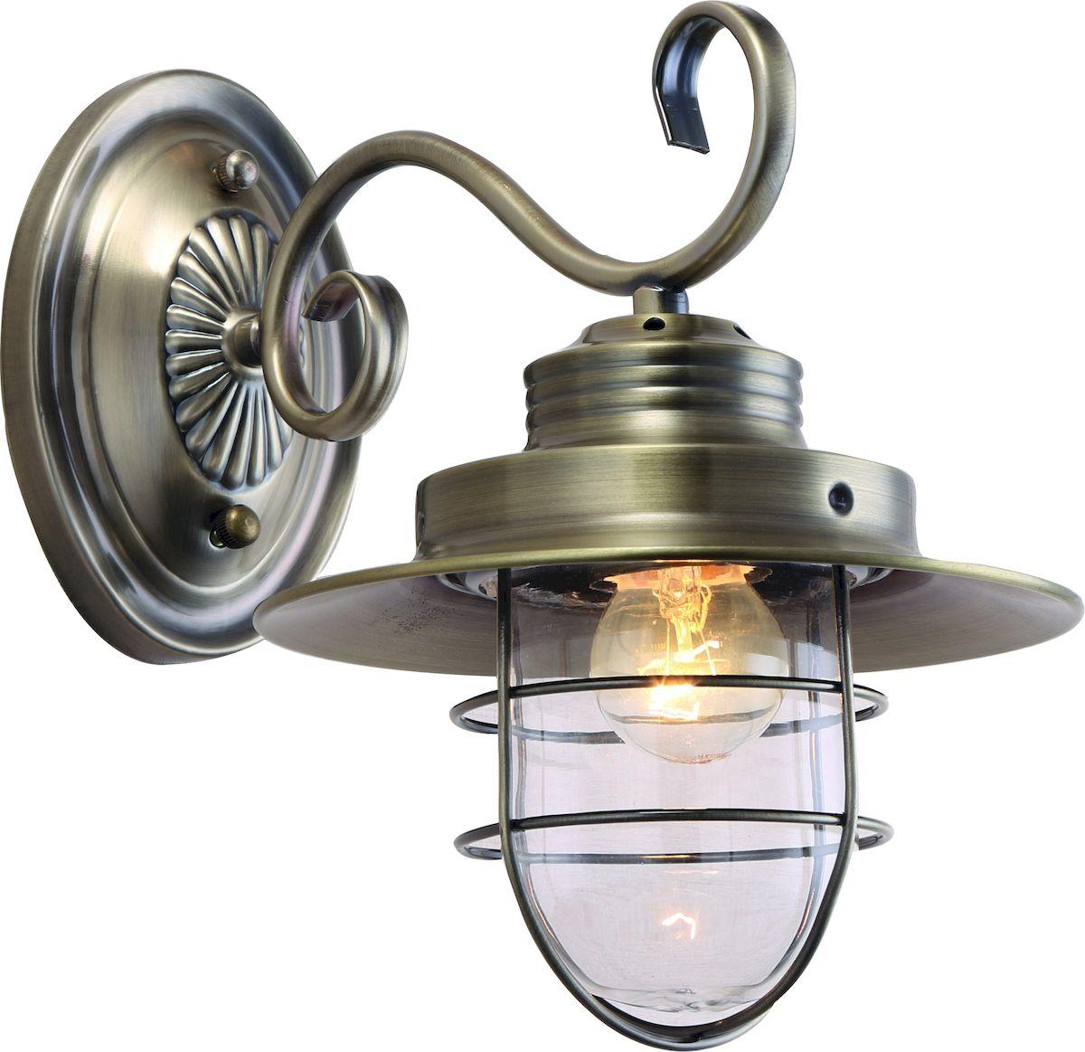 Светильник настенный Arte Lamp Lanterna. A4579AP-1ABA4579AP-1ABСветильник Arte Lamp Lanterna поможет создать в вашем доме атмосферу уюта и комфорта. Благодаря высококачественным материалам он практичен в использовании и отлично работает на протяжении долгого периода времени. Цоколь Е27, 1 шт, 60 Ватт. Удаление от стены: 30 см. Крепление: монтажная планка шурупами.
