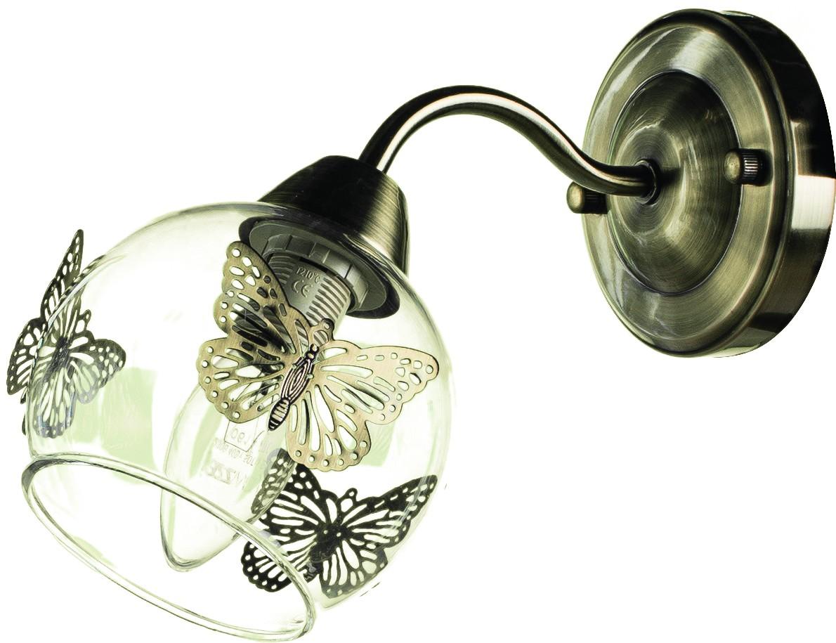 Светильник настенный Arte Lamp ALESSANDRA A5004AP-1ABA5004AP-1AB