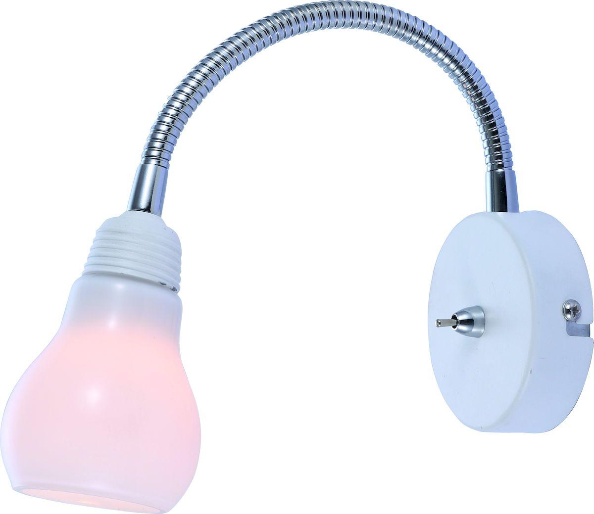 Светильник настенный Arte Lamp LETTURA A5271AP-1WHA5271AP-1WH