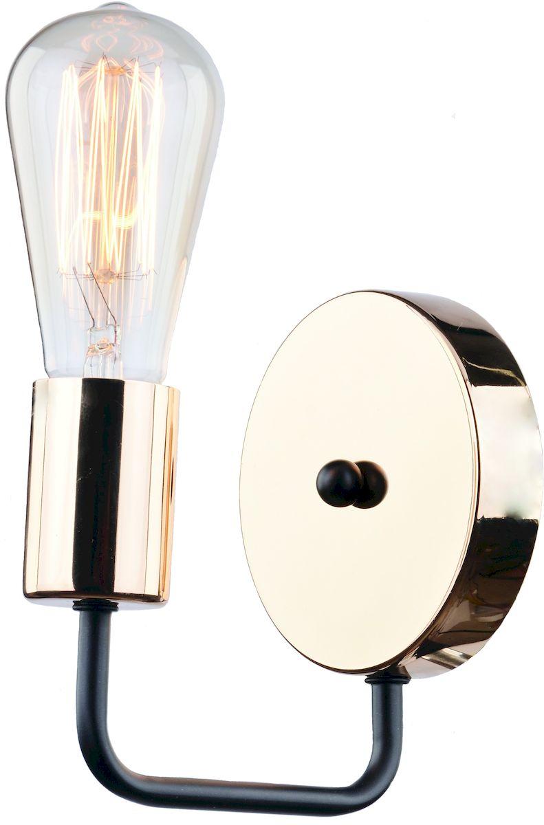 Светильник настенный Arte Lamp GELO A6001AP-1BKA6001AP-1BK