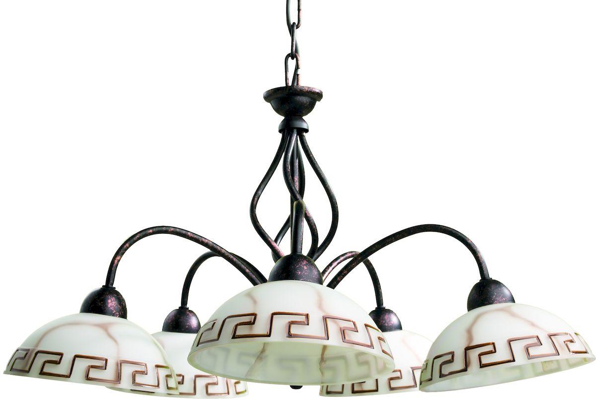 Светильник подвесной Arte Lamp Rustica A6884LM-5BR arte lamp подвес arte lamp rustica a6884sp 1br