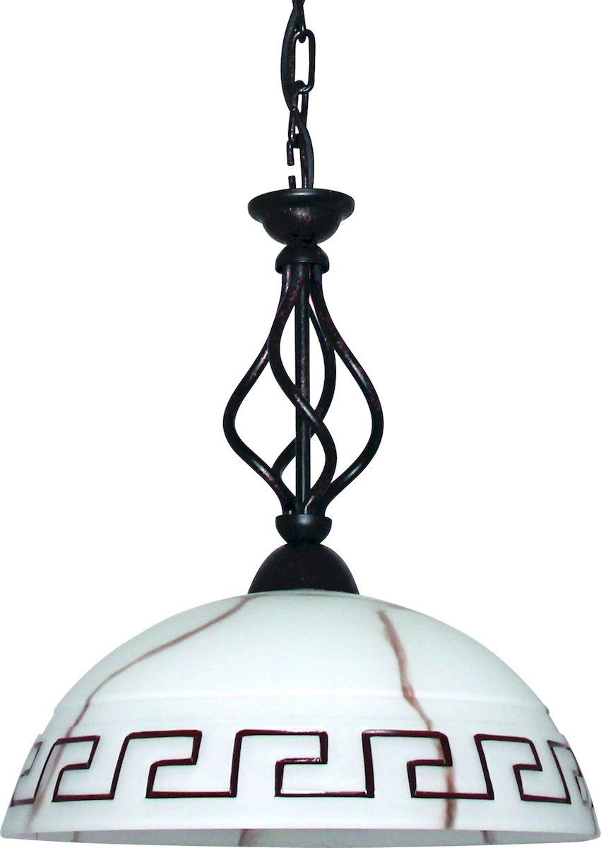 Светильник подвесной Arte Lamp Rustica. A6884SP-1BRA6884SP-1BRСветильник Arte Lamp Rustica поможет создать в вашем доме атмосферу уюта и комфорта. Благодаря высококачественным материалам он практичен в использовании и отлично работает на протяжении долгого периода времени. Длина цепи: 53 см (укорачивается). Высота до цепи: 39 см. Диаметр плафона: 36 см. Лампы: E27; 1x60W. Тип крепления: чаша на крюк.