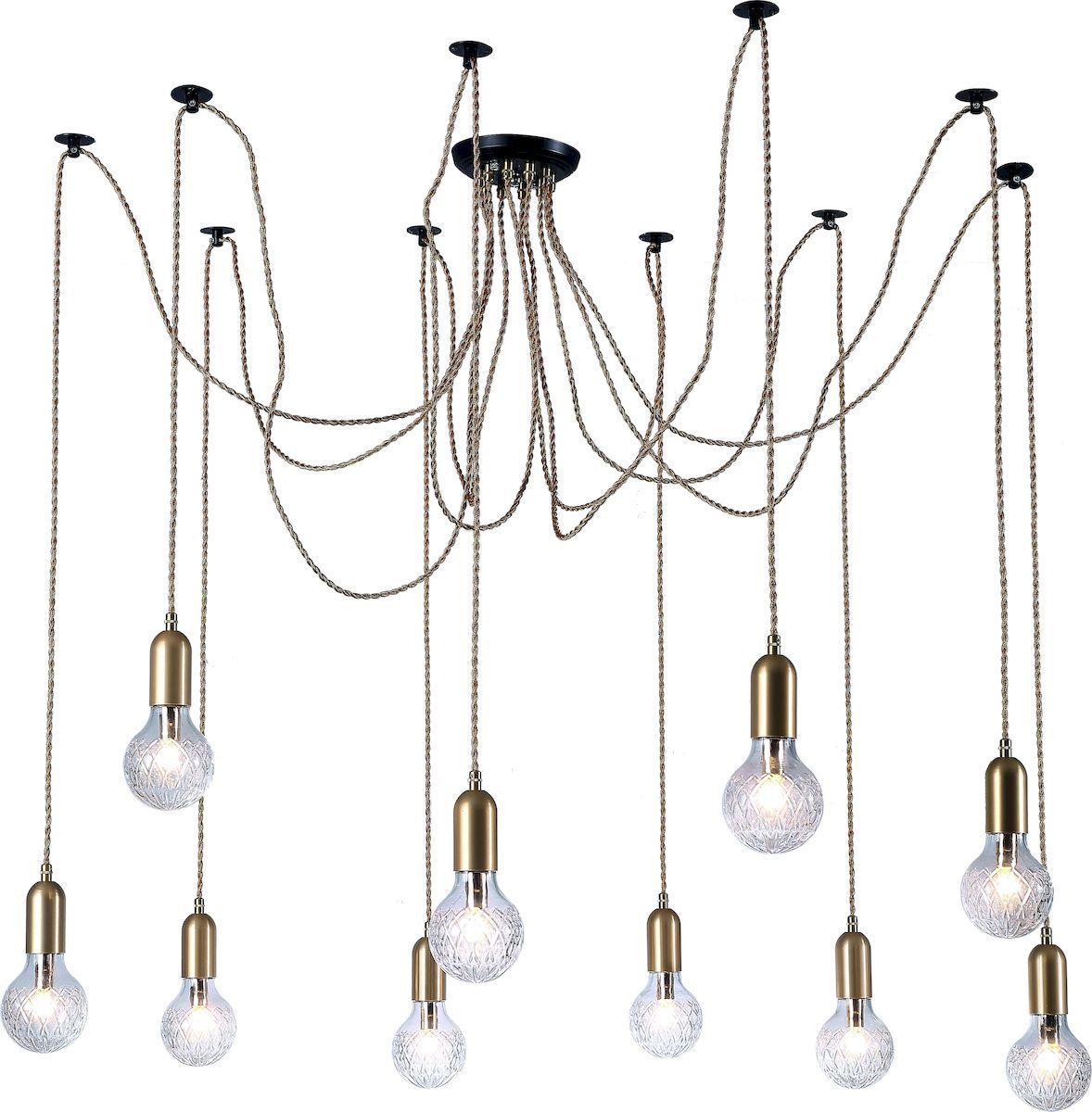 Светильник подвесной Arte Lamp SALUTE A8040SP-10SGA8040SP-10SG