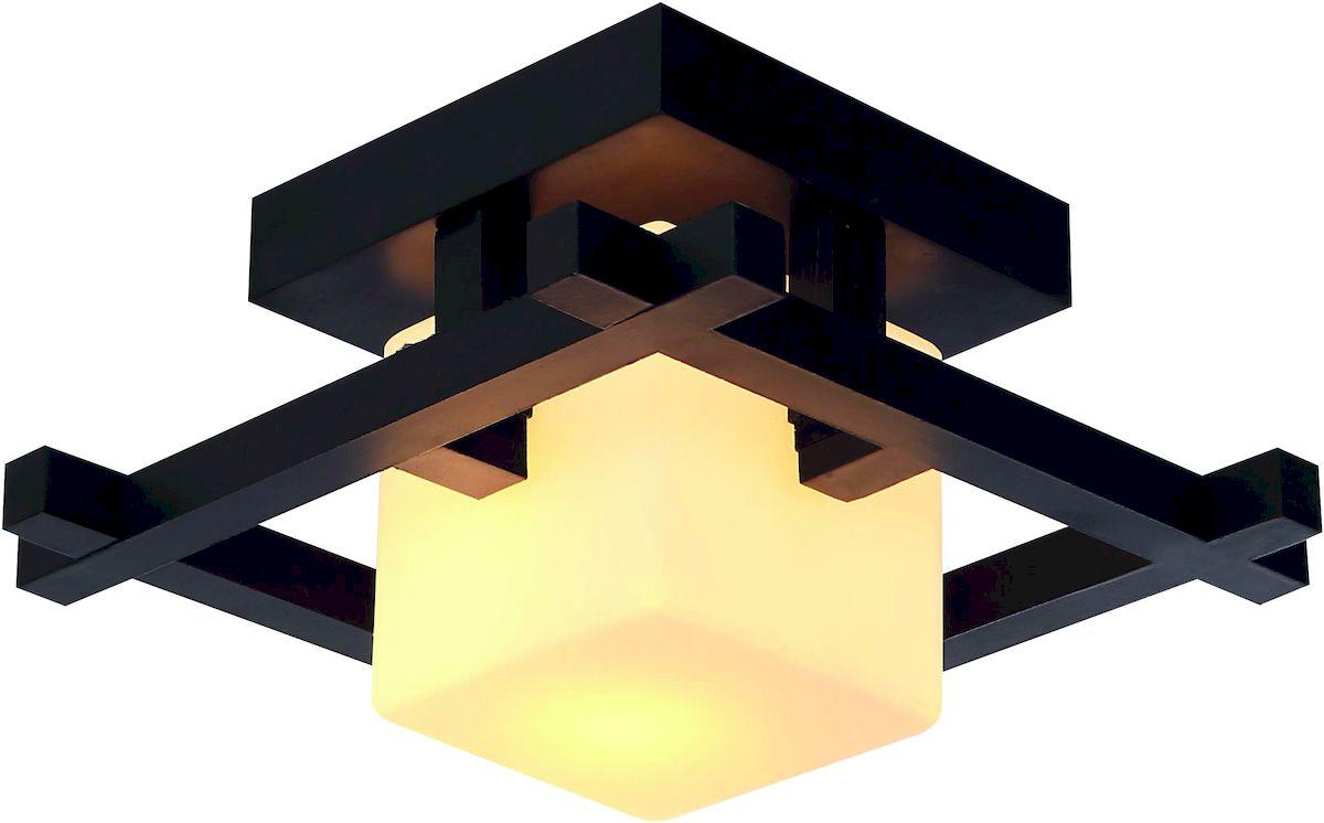 Светильник потолочный Arte Lamp Woods. A8252PL-1CKA8252PL-1CKПотолочный светильник Arte Lamp Woods поможет создать в вашем доме атмосферу уюта и комфорта. Благодаря высококачественным материалам он практичен в использовании и отлично работает на протяжении долгого периода времени. Стильный светильник квадратной формы с одной лампой. Светильник изготовлен из дерева венге и матового стекла. Лампы: Е27, 1х60 Ватт.Тип крепления: планка на шурупах.