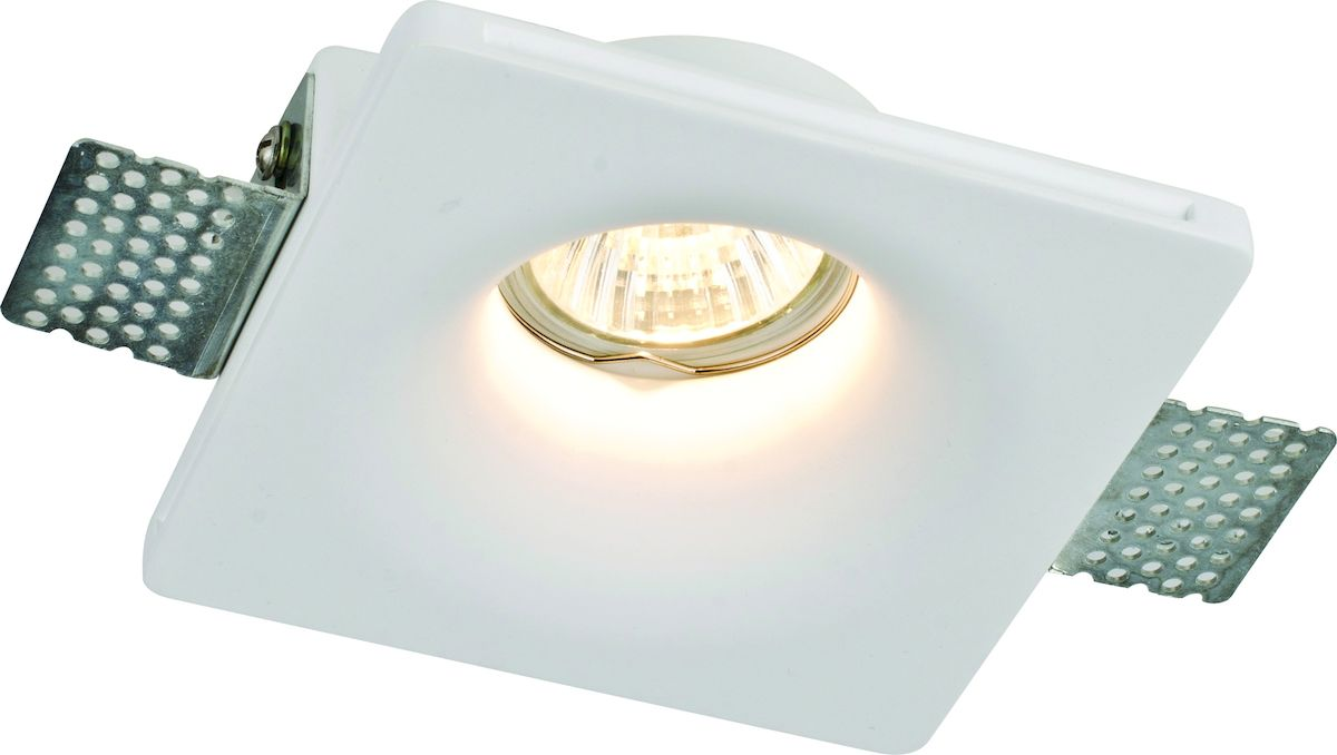 Светильник потолочный Arte Lamp Invisible. A9110PL-1WHA9110PL-1WHПотолочный светильник Arte Lamp Invisible поможет создать в вашем доме атмосферу уюта и комфорта. Благодаря высококачественным материалам он практичен в использовании и отлично работает на протяжении долгого периода времени. Встраиваемый светильник в стиле модерн квадратной формы будет отлично смотреться в небольших помещениях. Светильник встраивается в фальш-потолок. Светильник может быть ошпаклеван и окрашен при необходимости. Необходимая толщина фальш-потолка 9-15мм.Ширина: 120 мм. Врезное отверстие: 125x125 мм. Высота спота: 45 мм. Минимальная высота встроенной части с установленной лампой: 65мм. Лампы: GU10; 1x35 W.